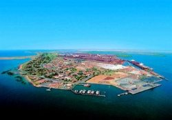 The city of Port Hedland